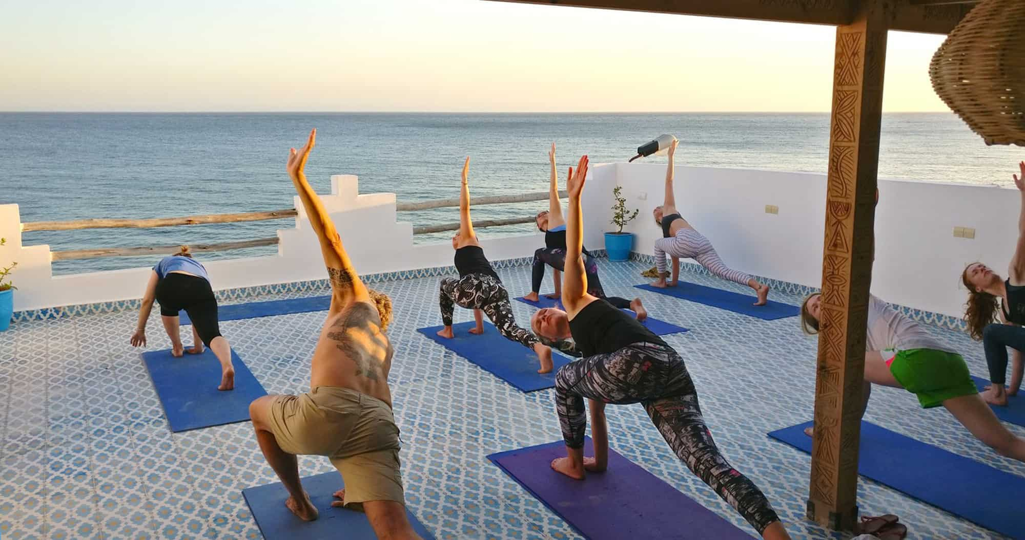 morocco surf camp taghazout yoga retreat surf berbere beginner learn to surf